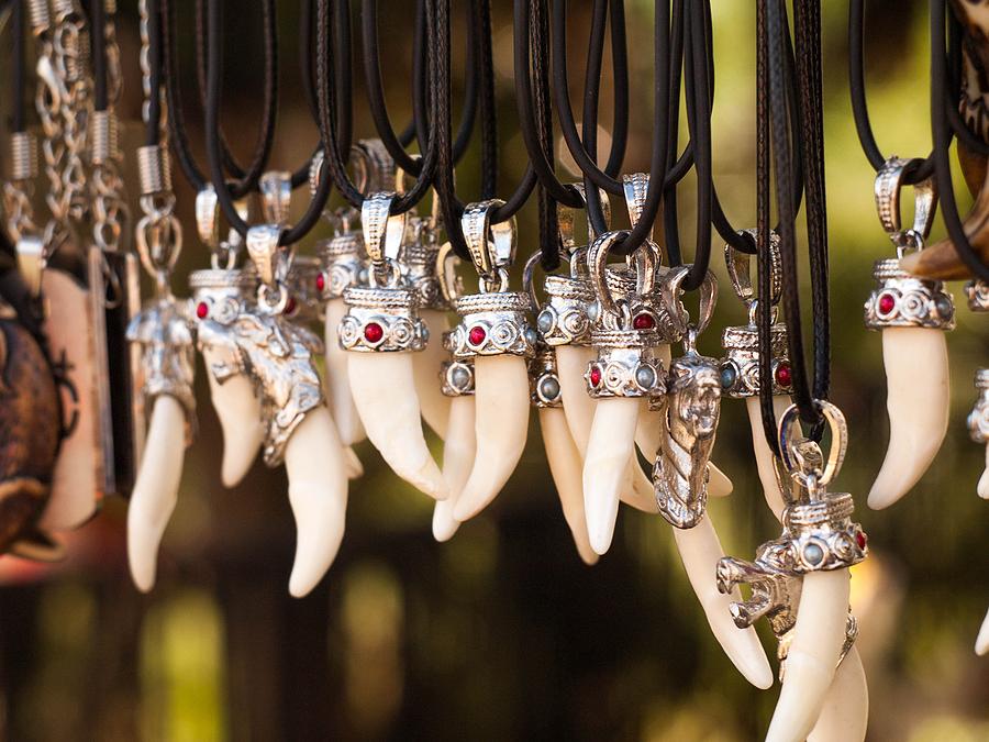 Four New Zealand Necklace Bone Styles